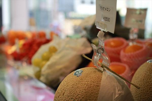 旬の果物をそのときどきでそろえているのでお持ち帰りも可能。果実園目黒本店
