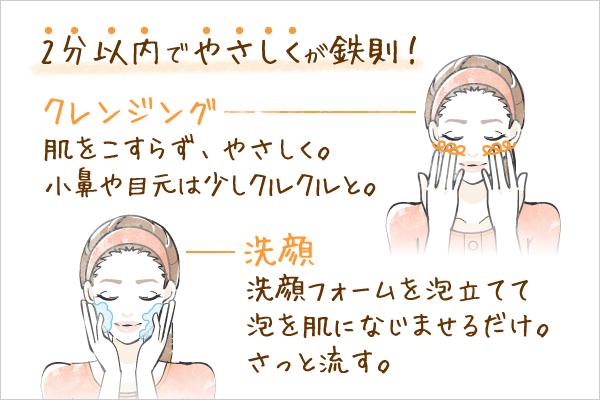 乾燥肌の原因は「洗いすぎ」だった?「2分洗顔」でモチモチ肌を実現しよう