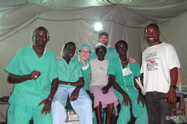 紛争地・南スーダンの手術室の「日常」とは 土井直江|国境なき医師団ナースリレーコラム|看護師専用Webマガジン【ステキナース研究所】