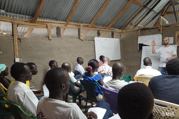 現地スタッフのトレーニング―国境なき医師団ナースコラム【南スーダン】