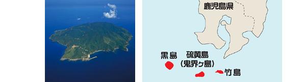 黒島の位置