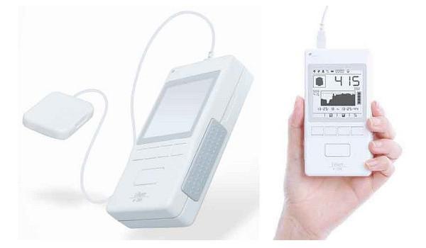携帯膀胱用超音波画像診断装置「リリアムα-200」