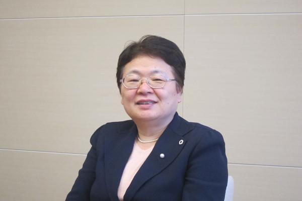 日本看護協会常任理事の福井トシ子氏