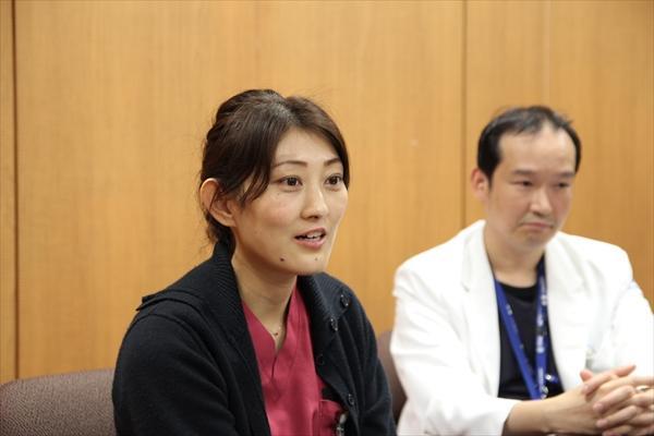 ドクターカーに同乗する看護師・加藤さん