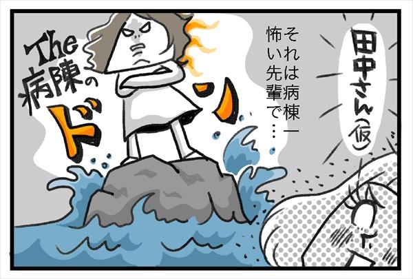 田中さん(仮)それは病棟一怖い先輩で、まさにドン