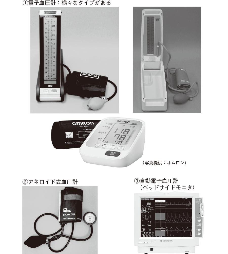 電子血圧計:様々なタイプがある