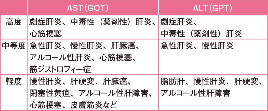 AST(GOT)、ALT(GPT)|検査値ガイド|看護roo![カンゴルー]