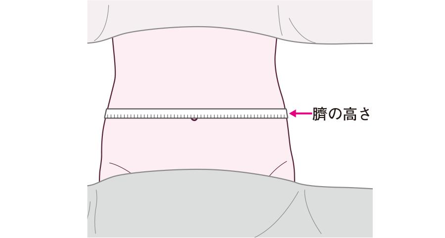 腹囲の測定