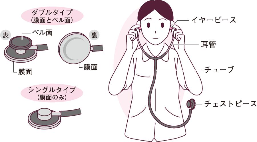 聴診器の構造