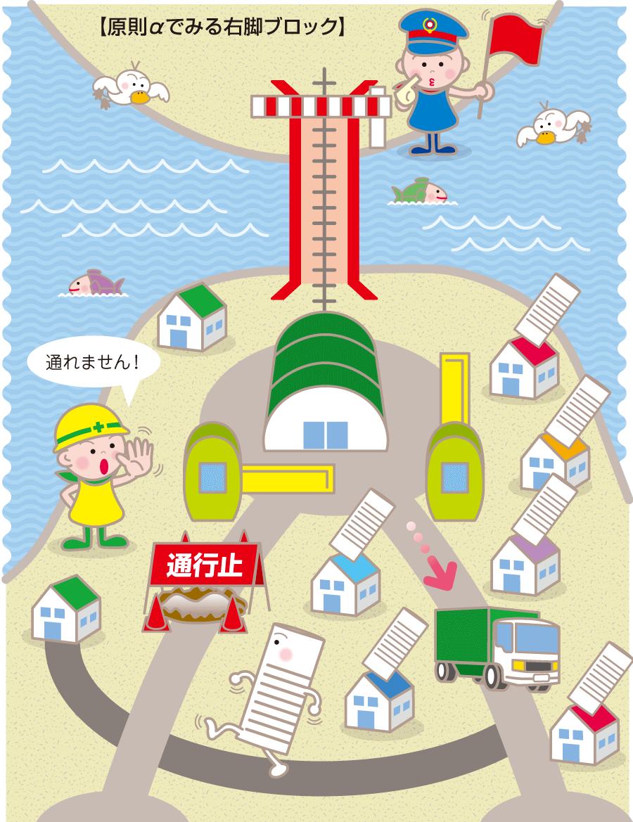 日本列島で脚ブロックが起こると……