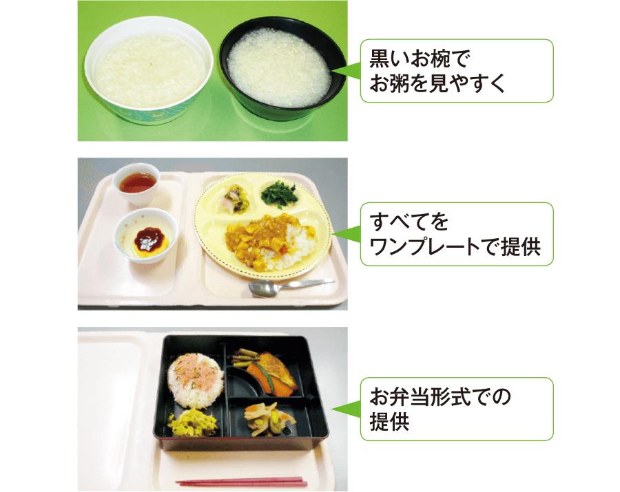 食事の認識度を上げる工夫