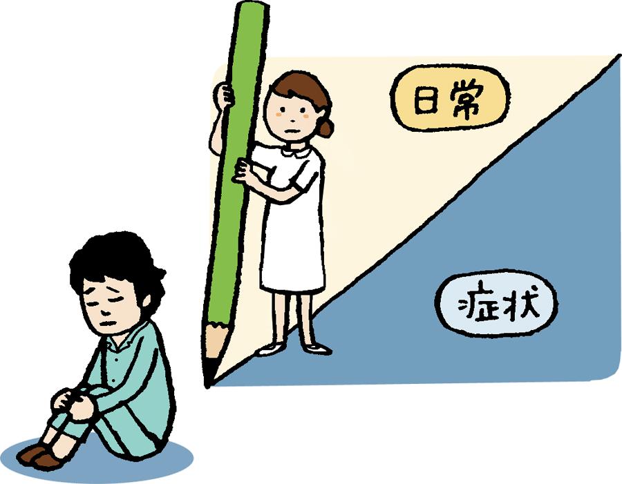 """""""日常生活の感情""""と""""精神症状""""の境目は?"""