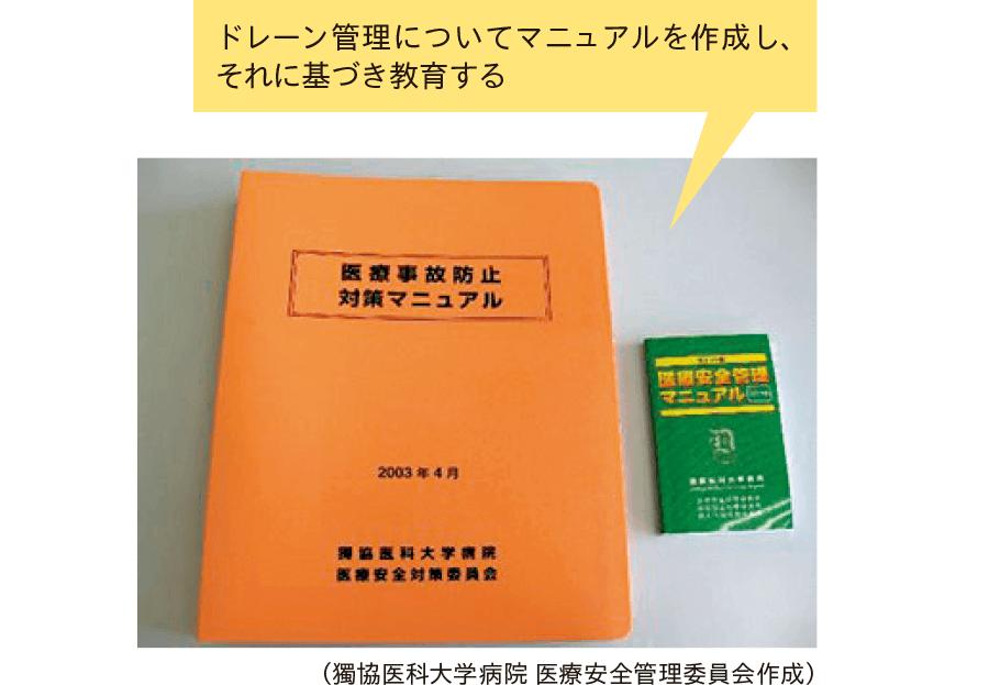医療安全対策マニュアルと携帯用ポケット版(例)