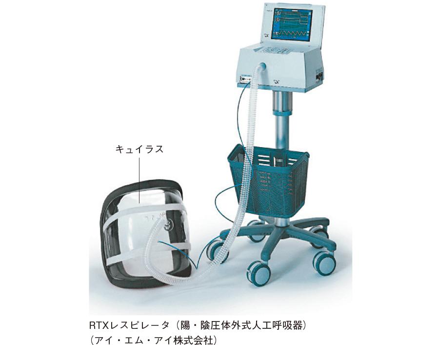 陰圧式人工呼吸器