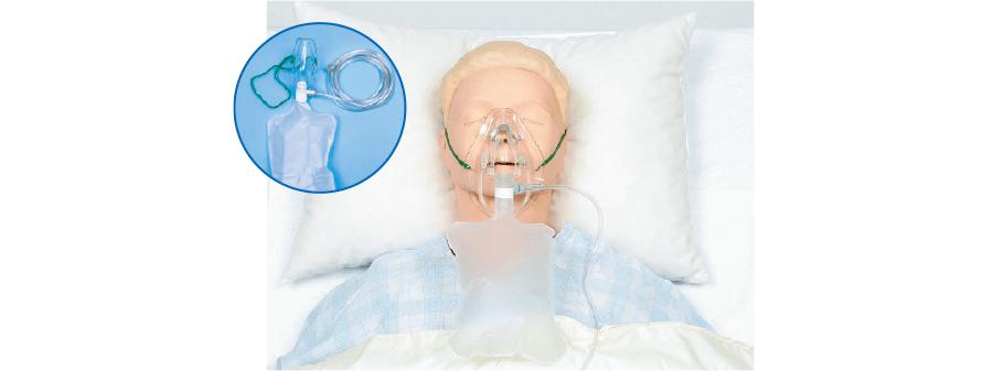 リザーバー付き酸素マスク
