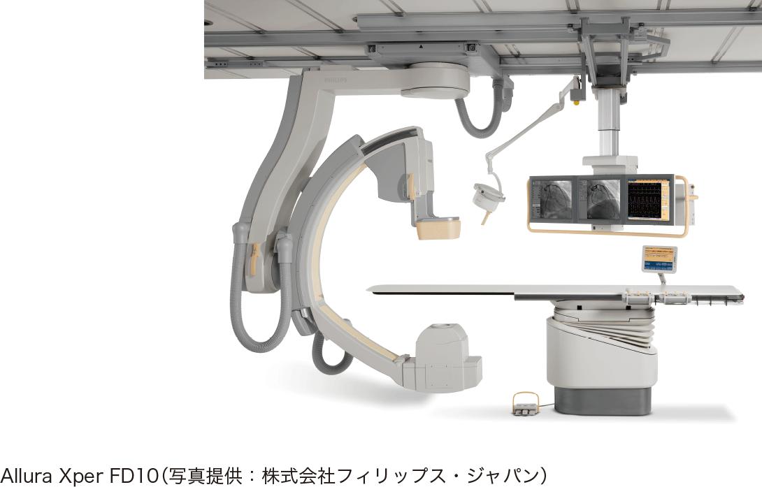 アンギオ装置の例(シングルプレーン)
