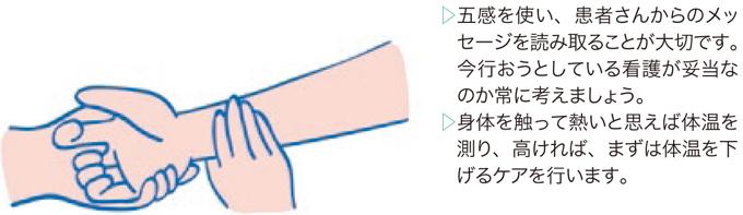 図6:五感を使う