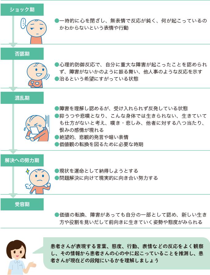 図5:障害受容理論