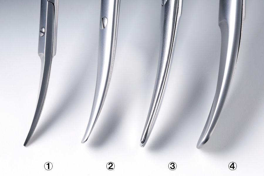 クーパー剪刀と他の剪刀の違い(先端部)