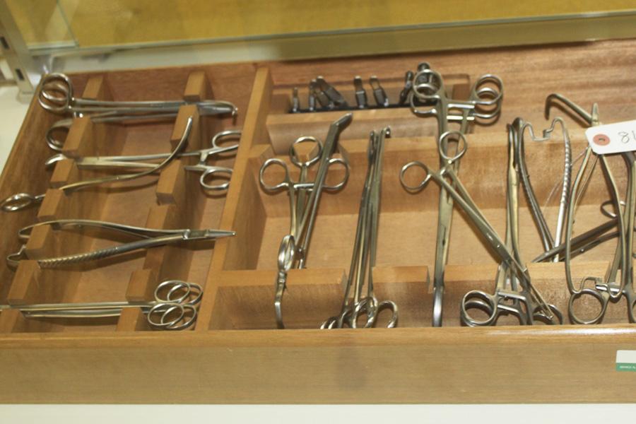 戦中・戦後に使用されていた器械
