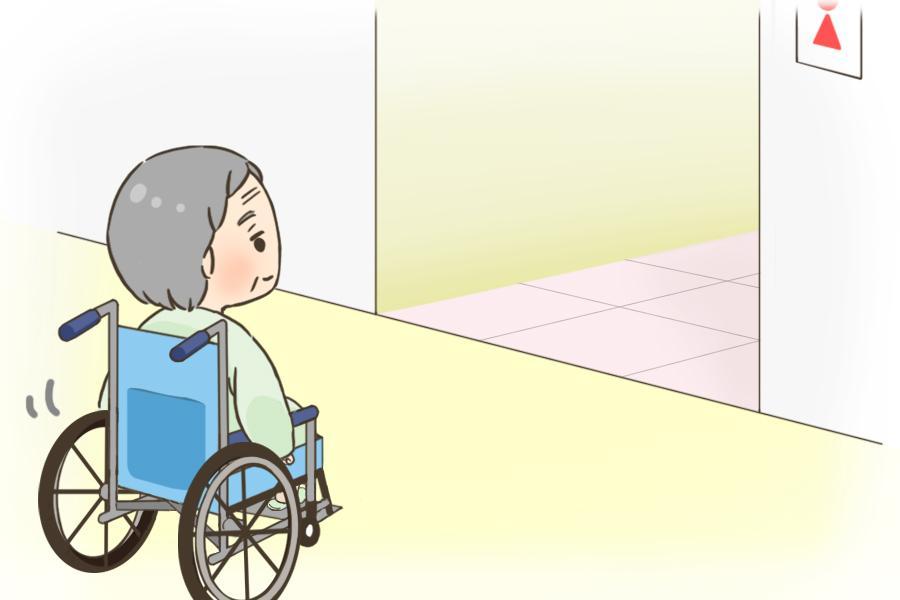 変形性関節症のため入院していたが、歩行機能は回復の傾向に