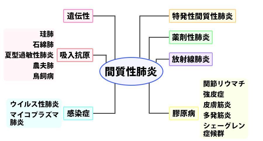 間質性肺炎の分類方法