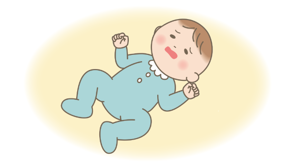 病気の乳児