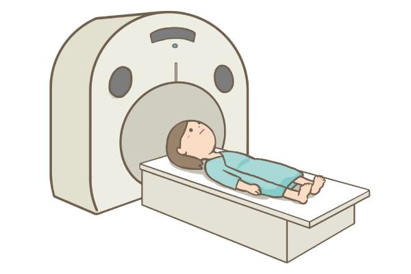 CTを受ける患者さん