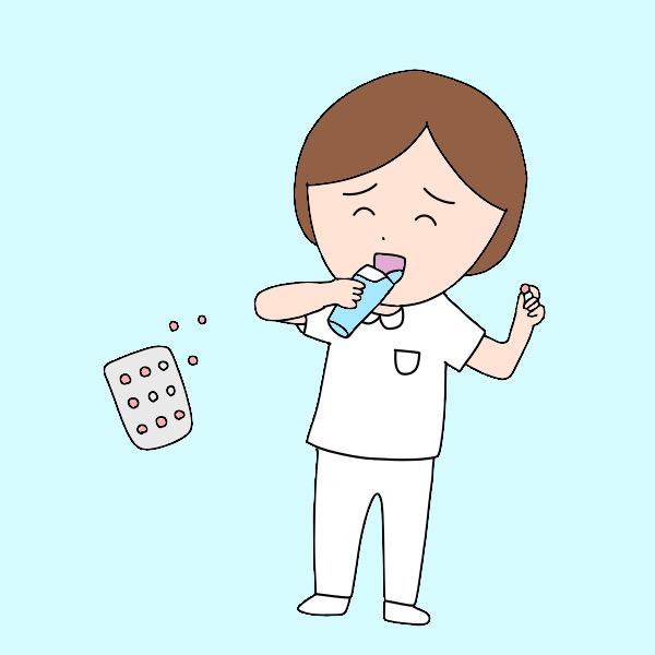 低用量ピルを服用している看護師