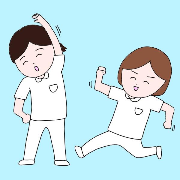 看護師に必要なのはハードワークを乗り切る「体力」