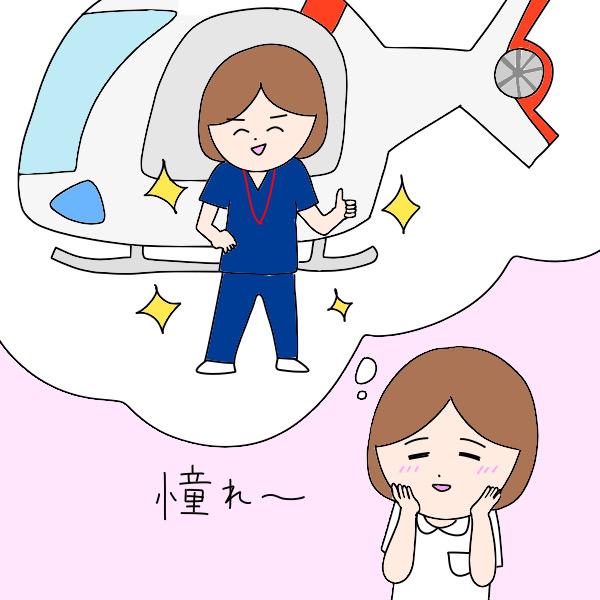 フライトナースに憧れる看護師