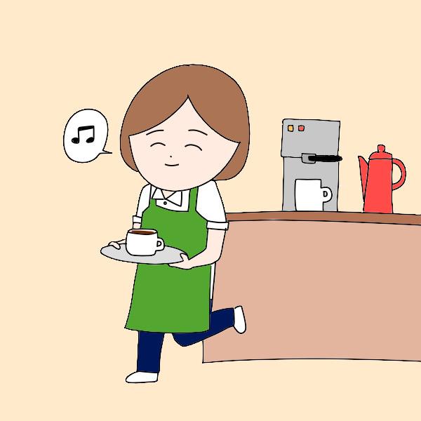 カフェで働いてみたい看護師