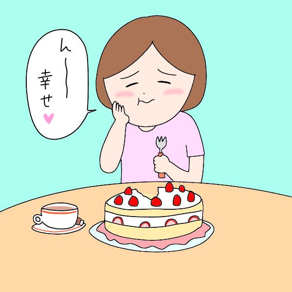 ケーキをワンホール食いしたい看護師