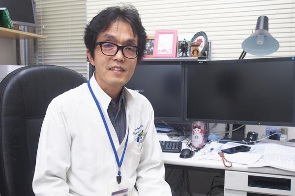 日本医科大学武蔵小杉病院内科教授の勝俣範之さん