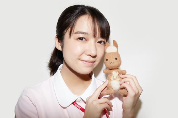 佐倉七瀬役の上白石萌音さんインタビューカット