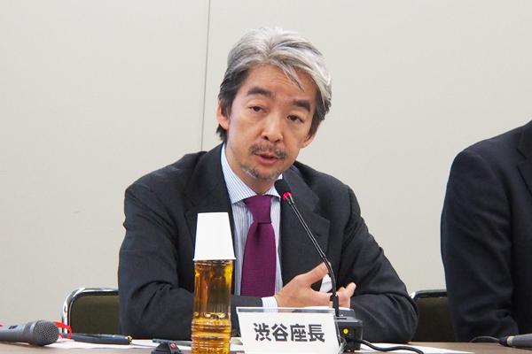 座長の渋谷健司さん