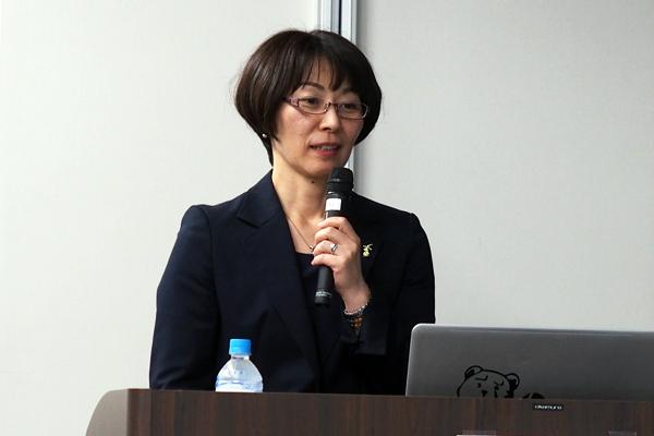 千葉大学大学院看護学研究科の斉藤しのぶさん