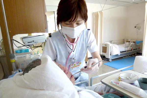 誤嚥性肺炎で入院した要介護高齢者へのベッドサイドスクリーニング評価