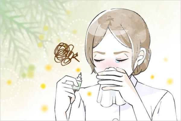 花粉症です。肌がカサカサしてる上にマスクでこすれ、鼻をかんでもっと荒れ・・・