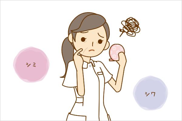 【看護roo!】看護師専用Webマガジン ステキナース研究所 |シミ・シワに効くツボ | 3分でできる! 体の悩みに効く! お手軽ツボ百科【6】